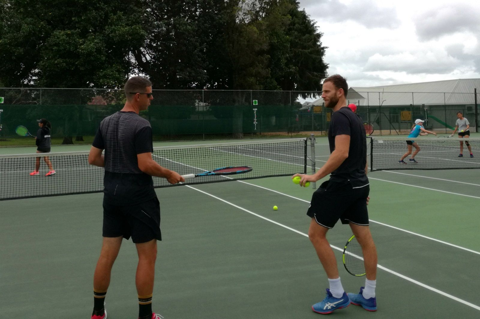 Michael Venus tennis