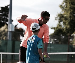 About Us Coaching Tennis
