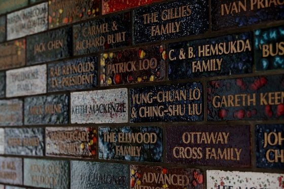 Club History Supporters Wall