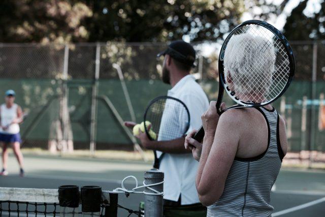 Tennis under Alert level 2